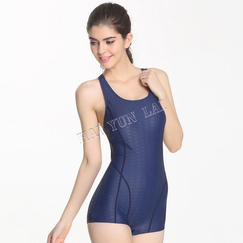One-Piece Flat Angle Competitive Swimwear